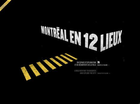 Montréal en 12 lieux | Cabinet de curiosités numériques | Scoop.it