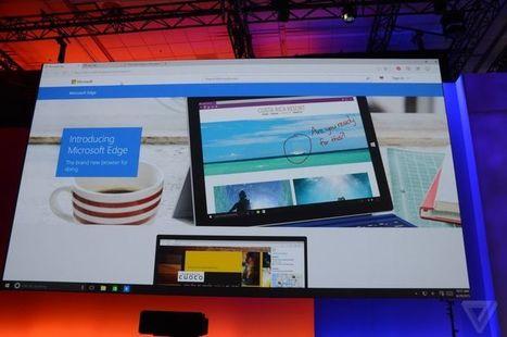 Microsoft Edge, es el nuevo navegador web de Redmond | Las TIC en el aula de ELE | Scoop.it