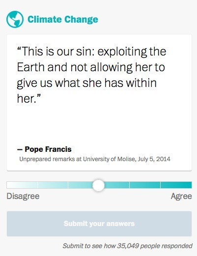 Do you agree with Pope Francis? | Crowd-data & Content | Scoop.it