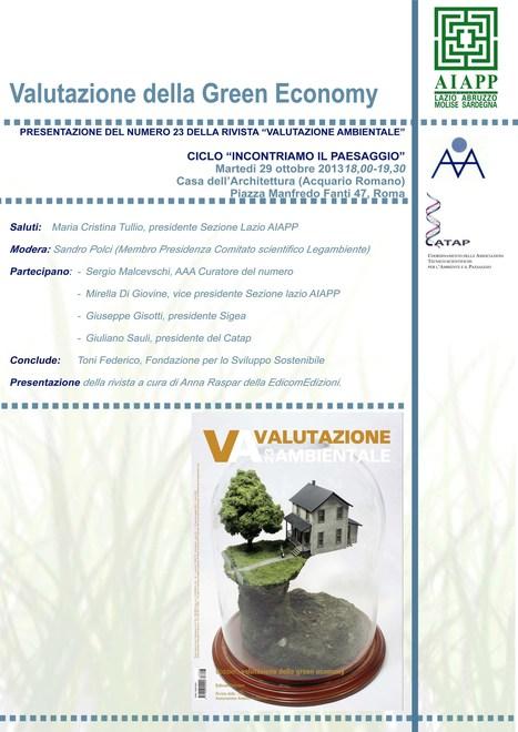 Valutazione della Green Economy | Cinzia Zugolaro - sferalab | Scoop.it