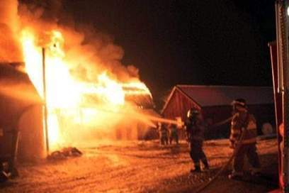 Cattle lost in barn fire - Wellsville Daily Reporter | Animal Science | Scoop.it