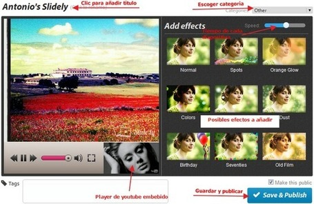 En la nube TIC: Slide.ly: Alternativa a Photopeach para presentaciones de imágenes | EDUCATIC | Scoop.it