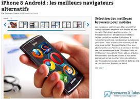 Le site du jour : les meilleurs navigateurs internet alternatifs pour iPhone et Android | mlearn | Scoop.it