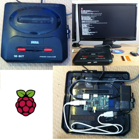 Today Oliver Holt made a Mega Drive Raspberry Pi Case. | Raspberry Pi | Scoop.it