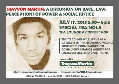 Did Trayvon's death have anything to do with race? | Community Village Daily | Scoop.it