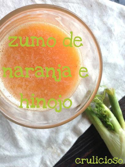 Crulicioso : Zumo de Hinojo y Naranja   Zumos Naturales   Scoop.it