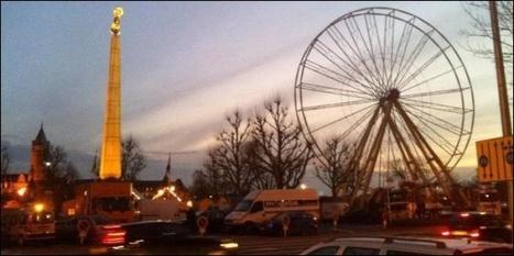 La grande roue montée place de la Constitution - Luxembourg | Luxembourg (Europe) | Scoop.it
