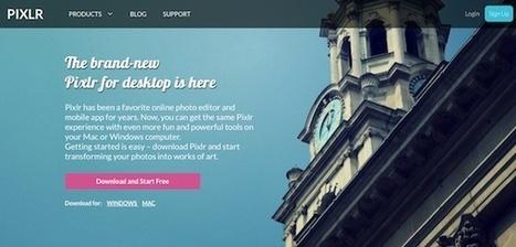 El editor de imágenes Pixlr cuenta ya con versiones para Mac y para Windows | Apps Web PC | Scoop.it