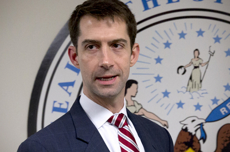Tom Cotton's Iran humiliation: How the talking points robot short-circuited on gay rights | Coffee Party Equality | Scoop.it