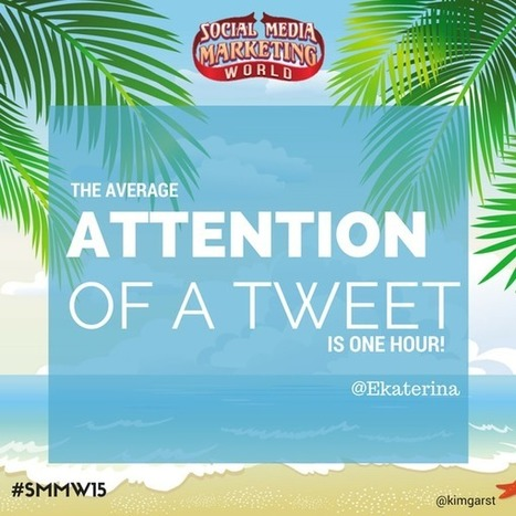 50 Brilliant Social Media Insights From #SMMW15 | Surviving Social Chaos | Scoop.it