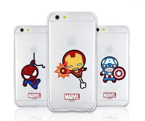 Marvel Avengers Kawaii Clear Hard Phone Case | Best Smartphone Cases | Scoop.it