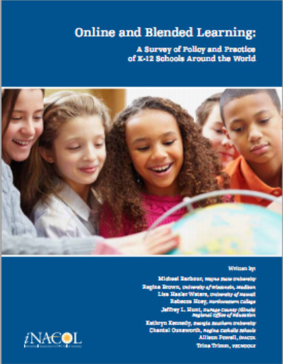 Online and Blended Learning: A Survey of Policy and Practice from K-12 Schools Around the World - Online Bookstore - iNACOL | E-Learning and Online Teaching | Scoop.it