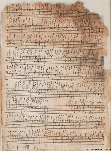 Lute manuscripts uploaded to Cambridge Digital Library - BBC News | Special Collections: digitization, new technologies | Scoop.it