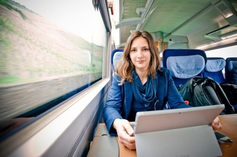 How one German millennial chose to live on trains rather than pay rent | Geography Education | Scoop.it