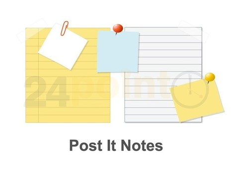 Post It Notes: PowerPoint Template | Intro | Scoop.it