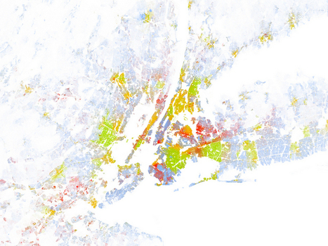 Map Shows Which American Cities Are Most Racially Segregated | advance placement human geography | Scoop.it