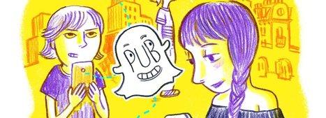 Snapchat, le réseau social qui défie les marques | Community management | Scoop.it