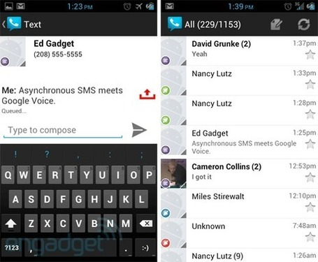 Google Voice update for Android brings design refresh and asynchronous SMS | Google stuff | Scoop.it