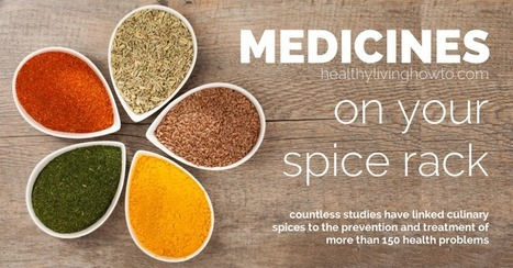 Medicines On Your Spice Rack - Healthy Living How To | Medical | Scoop.it