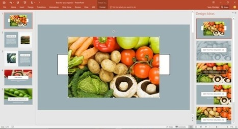 PowerPoint 2016 now helps people design slides that aren't terrible | Digital Presentations in Education | Scoop.it