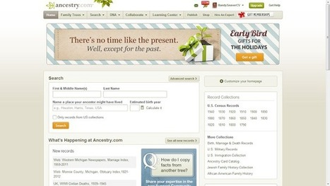 Whew - Ancestry.com is Working Well For Me Again! | Family History Research | Scoop.it