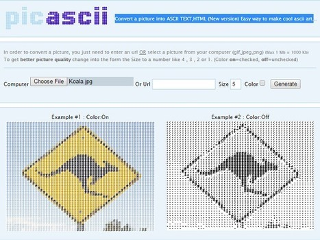 10 Best Free Services For Converting Text/Image Into ASCII Art | What's With Tech? | ASCII Art | Scoop.it