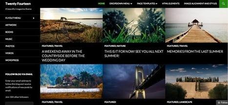 Twenty Fourteen, el nuevo tema de WordPress 3.8 y sus virtudes | Marketing Digital | Scoop.it
