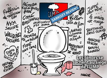 L'UMP lave son linge sale en famille | Baie d'humour | Scoop.it