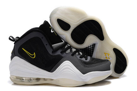 mens air max penny 5 cool grey and black white yellow color | popular and new list | Scoop.it