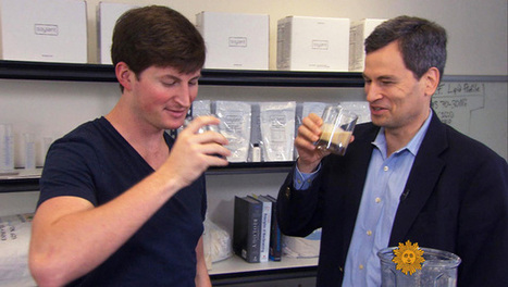 ​The future of food: Crushed bugs, chemical elixirs and apps - CBS News | cool food | Scoop.it