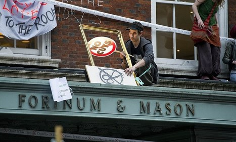 Outcry as judge praises the 'decent' protesters who invaded Fortnum's | Pressure Groups | Scoop.it