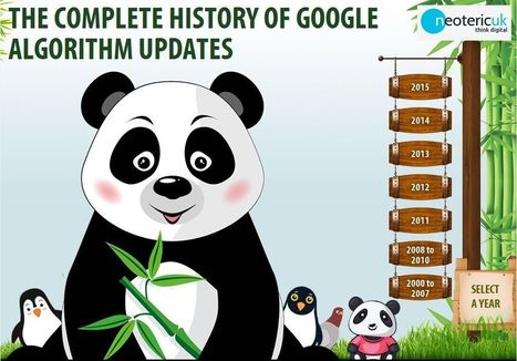 Google Algorithm Updates - The Complete History | Web Design and Ecommerce | Scoop.it
