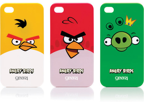 Angry Birds iPhone and iPod Touch Cases Catapult Into Your Pocket | All Geeks | Scoop.it