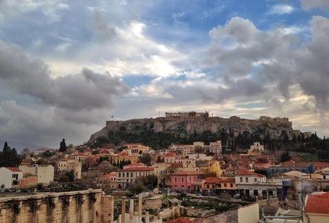 ¡La Acrópolis vista desde 100 terrazas de Atenas!   www.culturaclasica.com   EURICLEA   Scoop.it