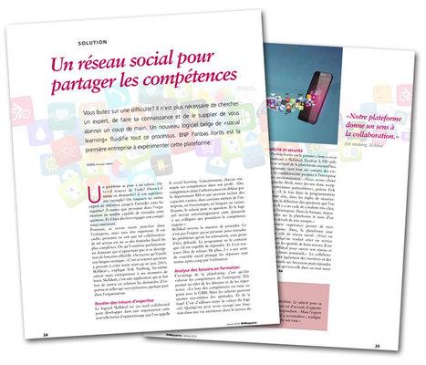 Un réseau social pour partager les compétences | Teamwork | Scoop.it