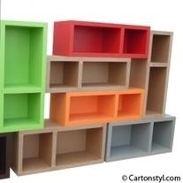 Le mobilier qui cartonne : le carton ! | Solutions Maison | Scoop.it