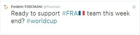 Twitter transforme les Hashtags en Hashflags à l'occasion de la Coupe du Monde | Hashtag : actualités et fonctionnalités | Scoop.it