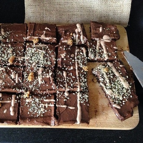 Easy Raw Vegan Walnut Chocolate Brownies - MindBodyGreen.com | Foodies (Rawism, Vegetarianism, Veganism) | Scoop.it