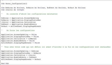 VBA: Rédiger des macros plus rapides | MSExcel | Scoop.it