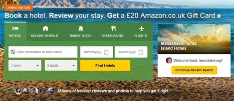 TripAdvisor redesign puts activities front and centre alongside hotels | Tourism Social Media | Scoop.it