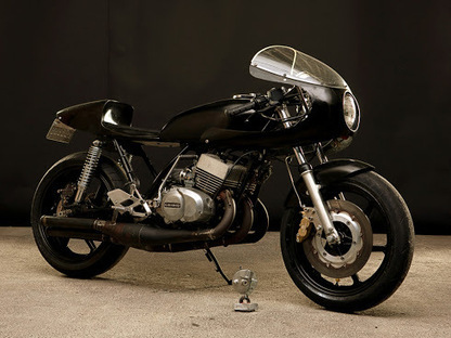 Inazuma café racer: Kawa S3 400 by Vicious Cycles | Cafe Racers | Scoop.it
