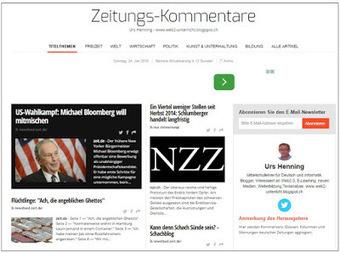 Web2-Unterricht: Lektüre-/Schreibprojekt: Zeitungskommentare | Web2.0 im Deutschunterricht | Scoop.it