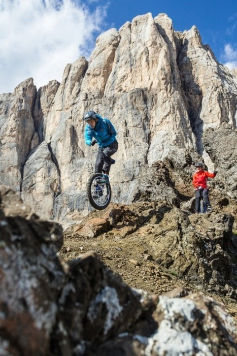 Extreme Mountain Unicycling Is as Crazy as It Sounds | Strange days indeed... | Scoop.it