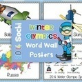 2014 Winter Games Word Wall Posters | Primary Geography for the Australian Curriculum | Scoop.it