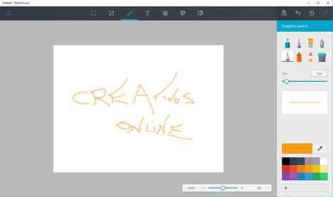 Cómo instalar el nuevo Paint en tu ordenador con Windows 10   Aprendiendoaenseñar   Scoop.it