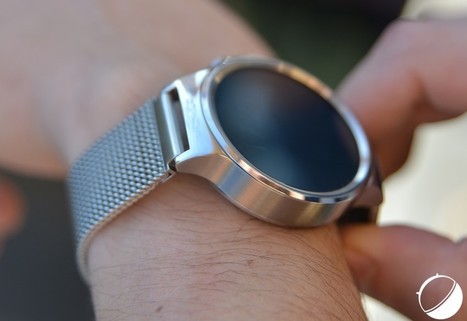 Test de la Huawei Watch : la plus belle pour orner nos poignets - FrAndroid | Geeks | Scoop.it