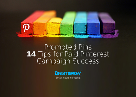 Promoted Pins - 14 Tips for Paid Pinterest Campaign Success - DreamGrow | Pinterest tips & more | Scoop.it