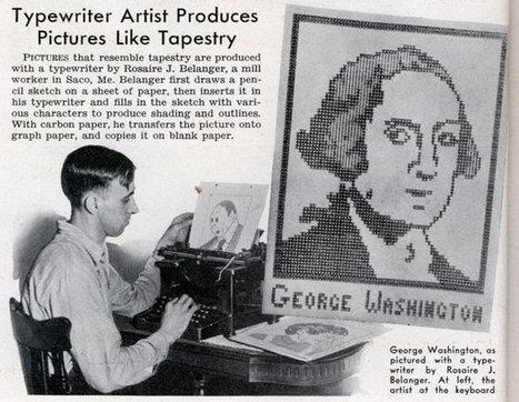 ASCII Art in 1939 - Popular Science (Jun, 1939) | ASCII Art | Scoop.it