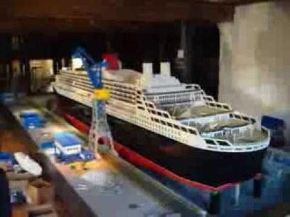 LEGO Queen Mary 2 à Hambourg - YouTube   Allemagne tourisme et culture   Scoop.it