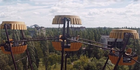 Explore Chernobyl like never before, courtesy of a drone | #ensw diversions - questionably relevant, edgy fodder to brighten your enterprise slog | Scoop.it